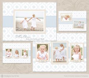 Christmas At The Beach Christmas Card Cc060